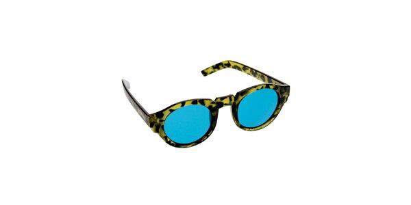 Dámské zeleno-tyrkysové sluneční brýle Jeepers Peepers