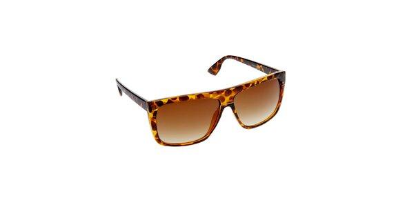 Dámské jantarovo-hnědé sluneční brýle Jeepers Peepers