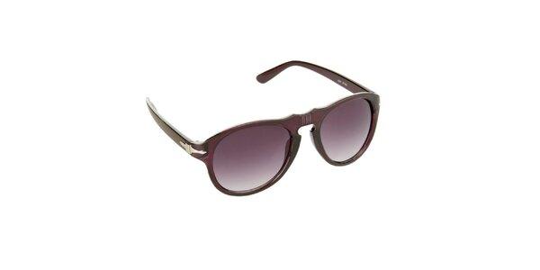 Dámské vínovo-fialové sluneční brýle Jeepers Peepers