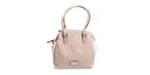 Dámská smetanová kabelka Sisley