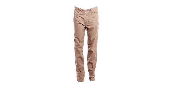 Dámské ořechově hnědé kalhoty Bushman