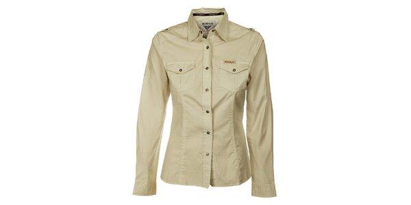 Dámská krémová košile Bushman