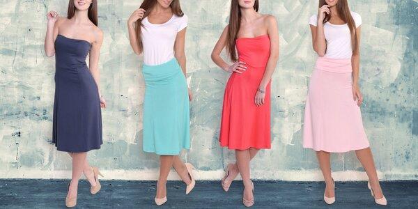 Dámské šaty 2 v 1: v 5 módních barvách, S–XXXL