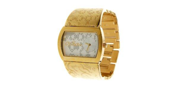 Dámské zlaté hodinky Oxbow
