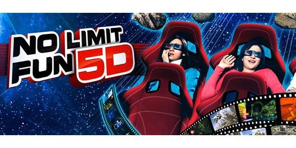 Lístky do nejmodernějšího 5D kina v Česku