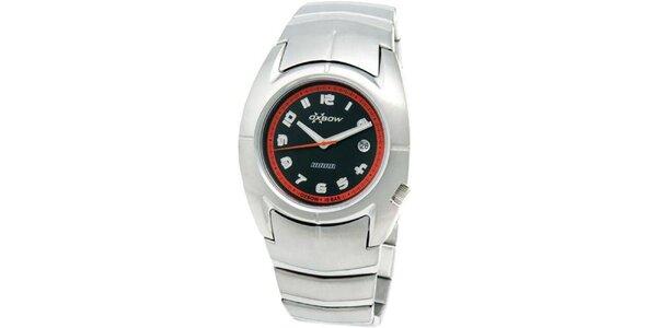 Pánské ocelové analogové hodinky Oxbow