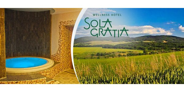 3denní relax v hotelu Sola Gratia na úpatí Hostýna