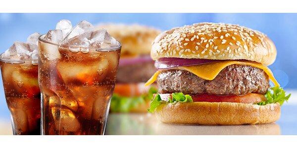 Jeden či dve V.I.P. Burger menu včetně nápoje