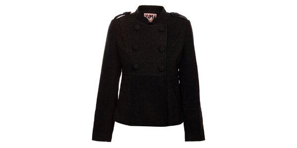 Dámský tmavě šedý kabátek Yumi
