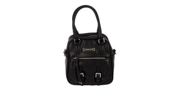 Dámská černá kabelka s přezkami Diesel