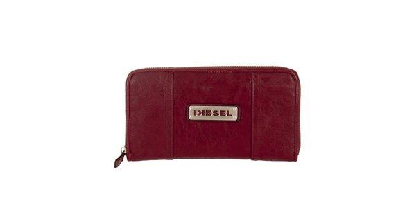 Dámská granátová peněženka Diesel