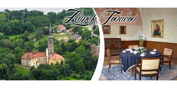 Prohlídka zámku Tovačov pro dvě osoby
