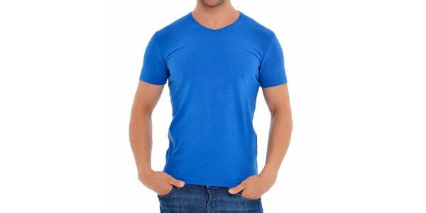 Pánské nebesky modré tričko Wessi
