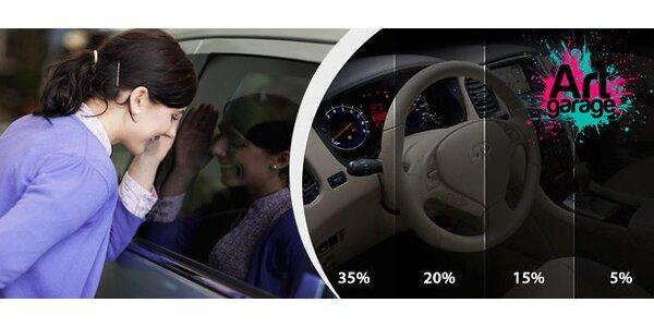 Tónování skel vašeho auta
