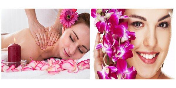 Exkluzivní uvolňující masáž s bylinkovými bio oleji a s posuvnými baňkami
