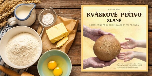 Kniha Kváskové pečivo slané