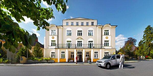 4* hotel v Mariánských Lázních s večeří i relaxem