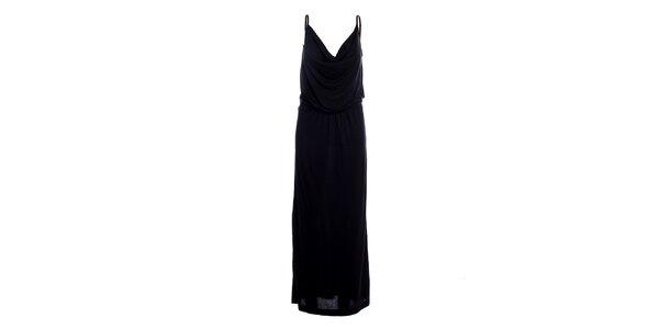 Dámské černé dlouhé šaty Miss Sixty