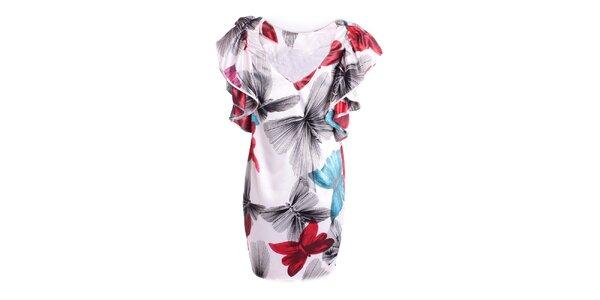 Dámské party šaty s motýlím vzorem Miss Sixty