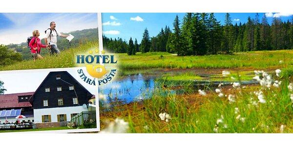 Turistika i odpočinek v Krušných horách pro dva