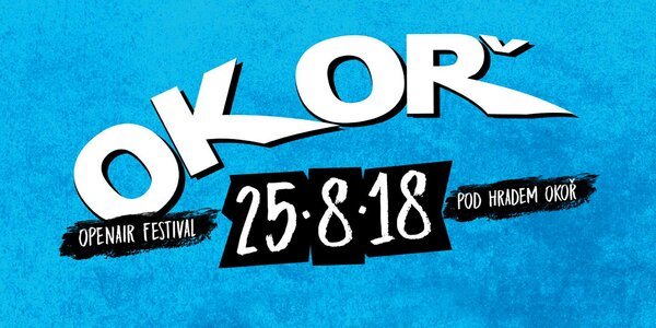 Vstupenka na hudební festival Okoř 2018