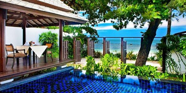 Plážový resort na thajském ostrově Koh Samui
