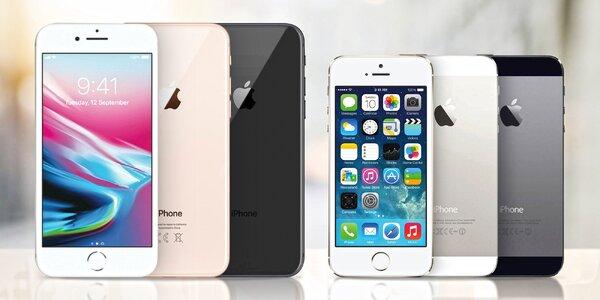 Zánovní telefony Apple iPhone: kategorie A