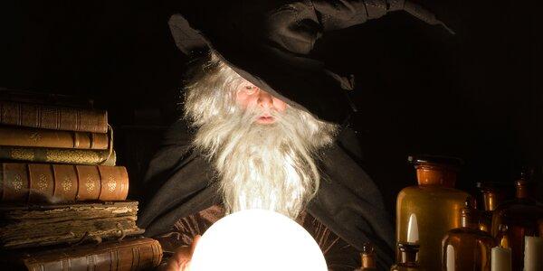 Dětská úniková hra Čaroděj: pro 4 nebo 7 hráčů