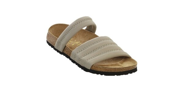 Dámské šedé pantofle Papillio