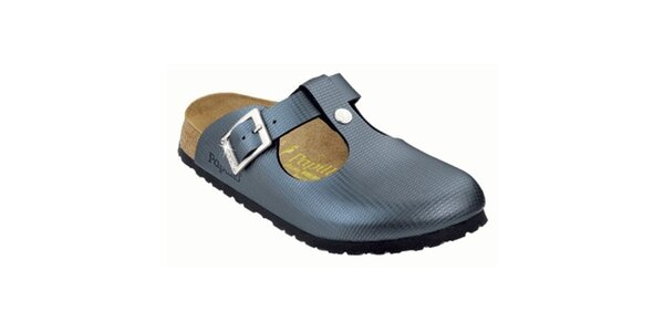 Dámské metalické pantofle Papillio