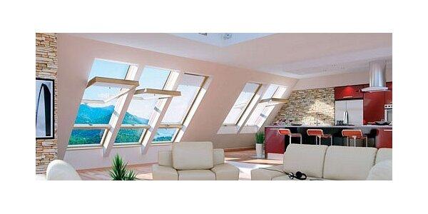 Mytí oken - kompletní umytí oken a otření rámů