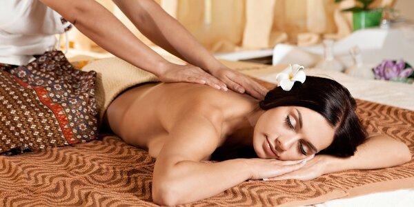 Dopolední thajská masáž podle výběru