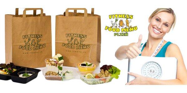 10 dní zdravé stravy Fitness Food menu vč. dopravy