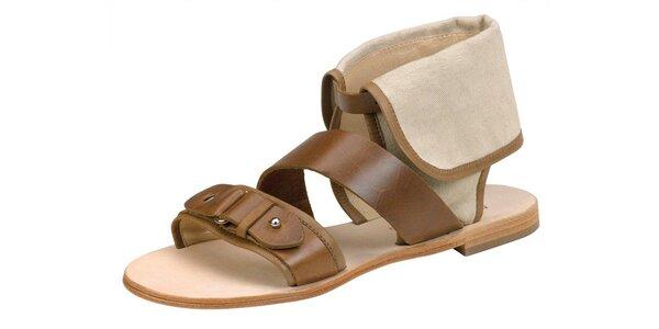 Dámské světle hnědé sandále Paul & Joe Sister