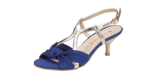Dámské modrozlaté sandále Paul & Joe Sister
