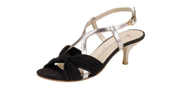 Dámské hnědozlaté sandále Paul & Joe Sister