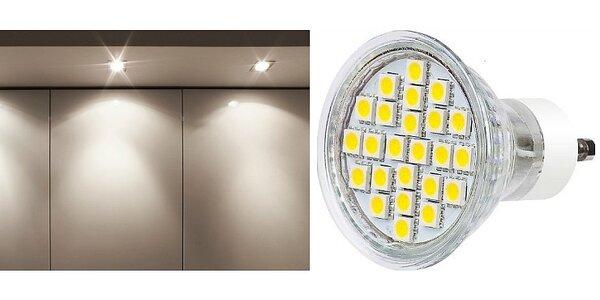 LED žárovka GU10 Premium Line 4W 270 lumen teplá bílá