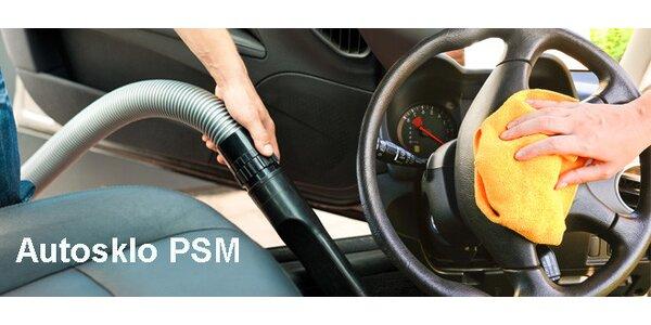 Čištění interiéru auta, tepování i dezinfekce