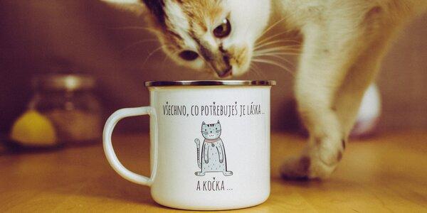 Plecháčky na kávu i čaj s vtipnými nápisy