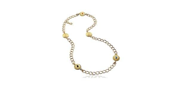 Dámský orientální náhrdelník zlaté barvy Dolce & Gabbana