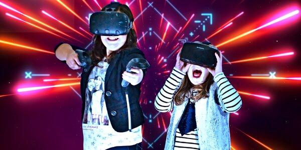 Hodina virtuální zábavy ve 3D Světě až pro 6 osob