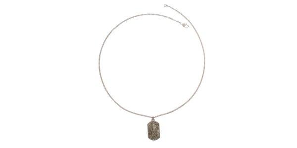 Dámský náhrdelník s destičkou Emporio Armani