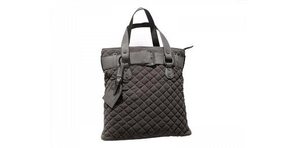 Stylová městská kabelka šedé barvyRed Hot