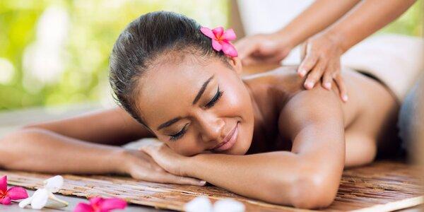 Indonéská Bali masáž - letní speciální balíček