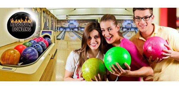 Hodina bowlingu v klubu Absolutní bowling