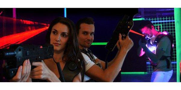 Dva vstupy na laser game v Ostravě