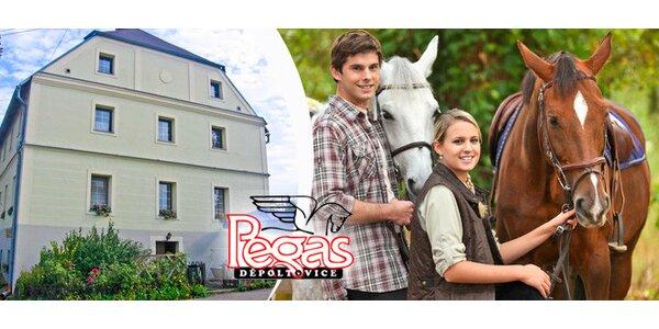 3denní romantika pro dva - koně, kola a turistika
