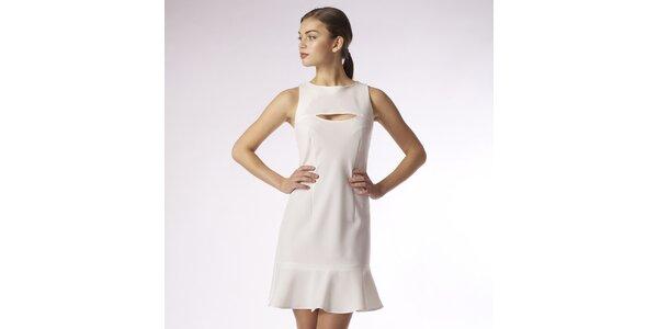 Dámské bílé šaty Emploi