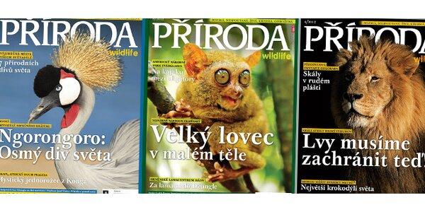 Předplatné poutavého časopisu Příroda (ročník 2012)