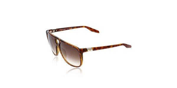Želvovinové unisex sluneční brýle Diesel